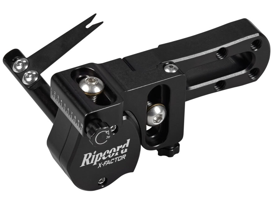 Ripcord X-Factor Arrow Rest Left Hand Black