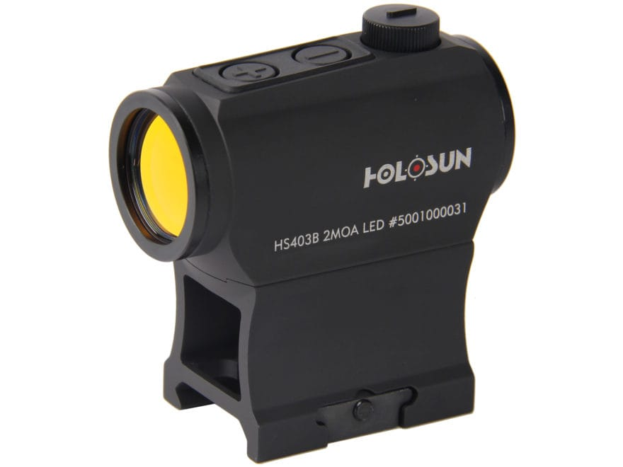 Holosun HE403B-GR Elite Green Dot Sight 1x 2 MOA Dot Weaver-Style Low and Lower 1/3 Co-...