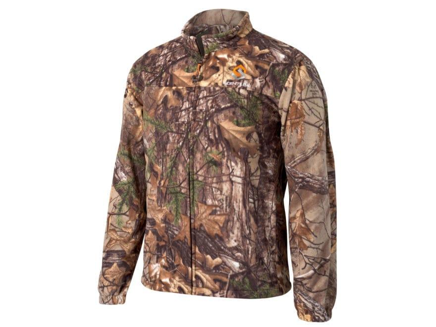 532b940cdb55c Scent-Lok Vortex Windproof Fleece Jacket Polyester Realtree Xtra