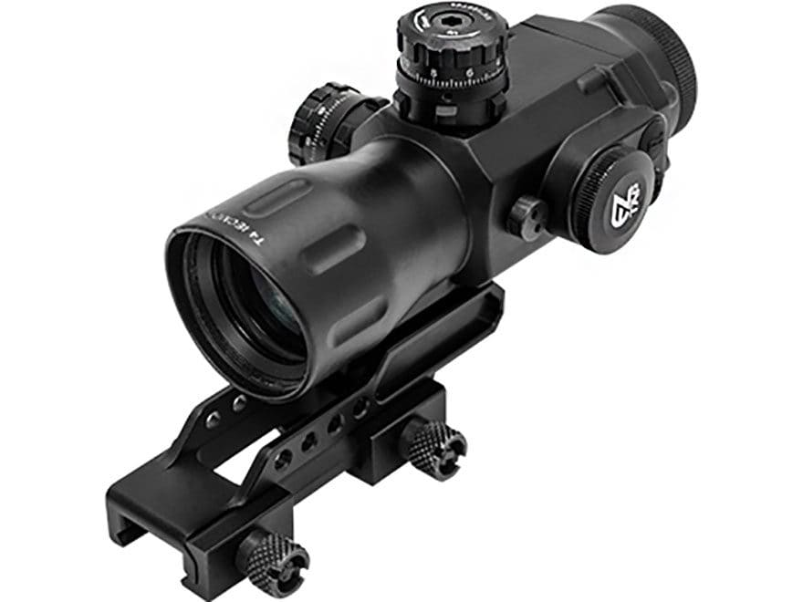 Leapers UTG Accushot T4 Prism Sight 4x 32mm 36 Color with Quick-Detach Picatinny-Style ...