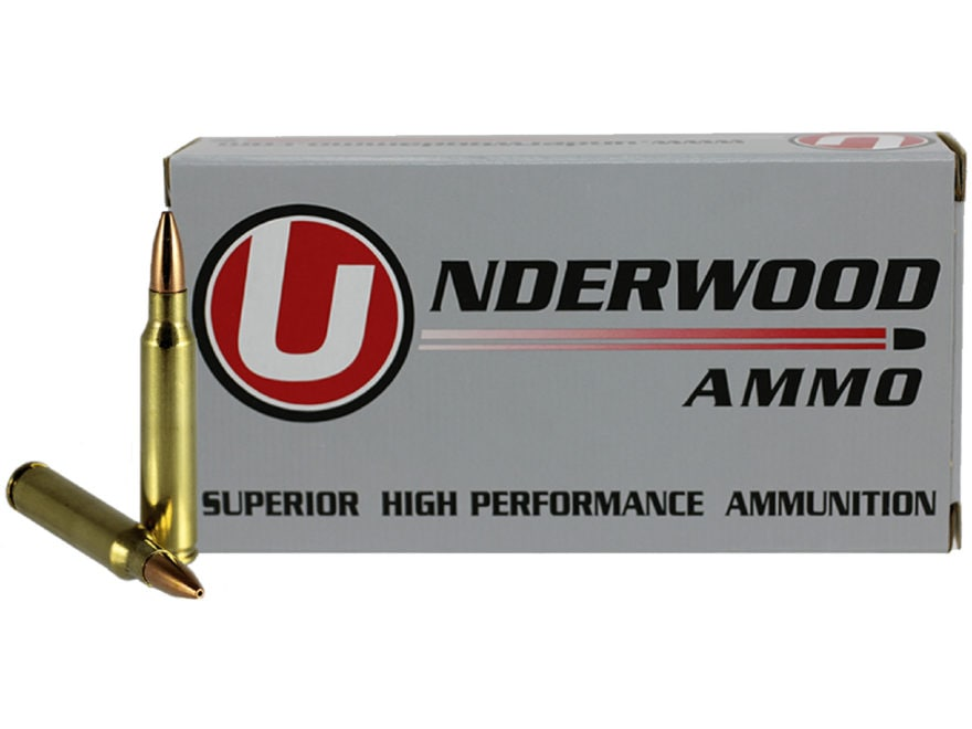 Underwood Ammunition 223 Remington 62 Grain Lehigh Controlled Chaos Lead-Free Box of 20