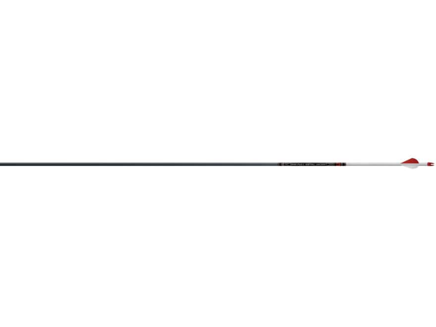 "Easton Full Metal Jacket 6mm 390 Carbon and Aluminum Arrow 2"" Blazer Vanes Black Pack of 6"