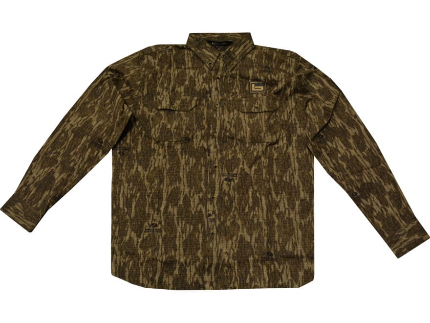 Banded Men's Button-Up Turkey Hunting Shirt Long Sleeve Cotton