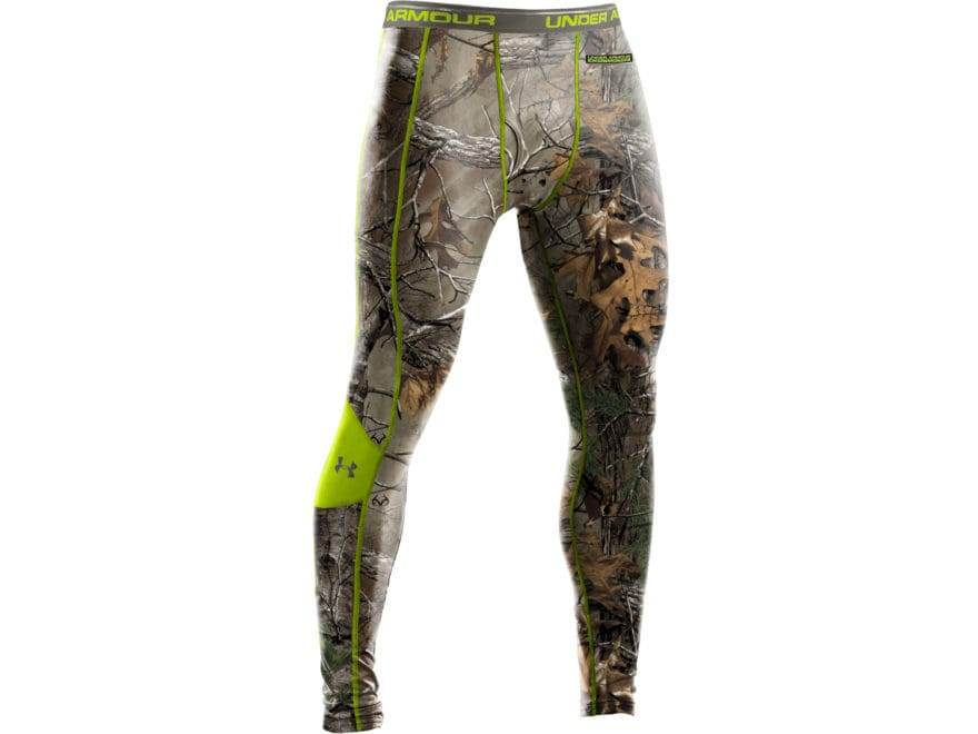 f7d420eddad52 Under Armour Men's EVO Scent Control Base Layer Pants Polyester