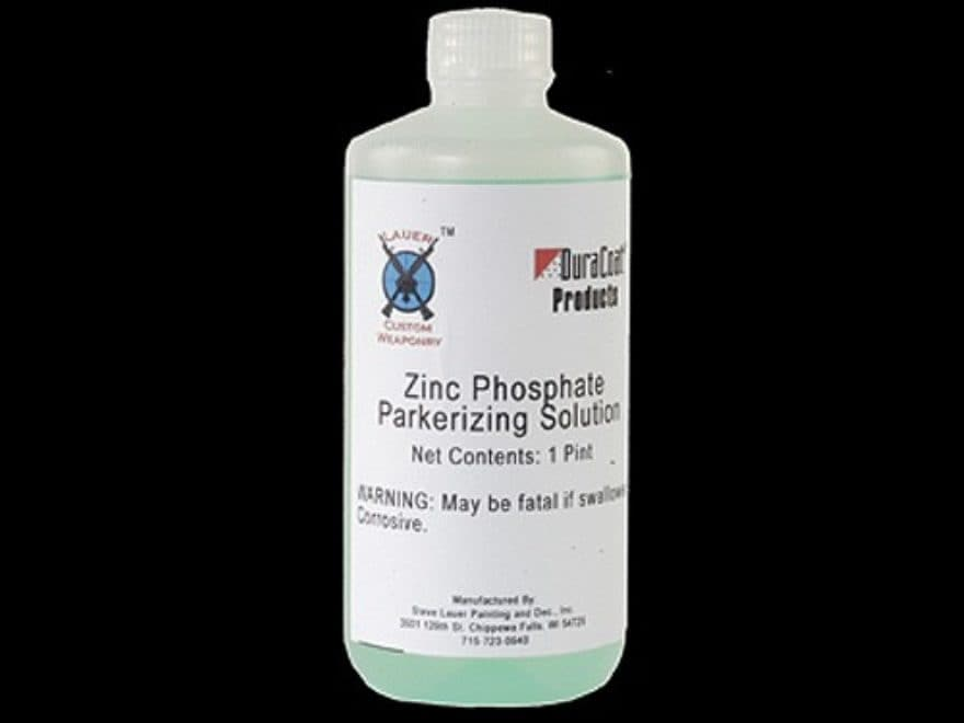 Lauer Custom Weaponry Zinc Phosphate Parkerizing Solution Liquid