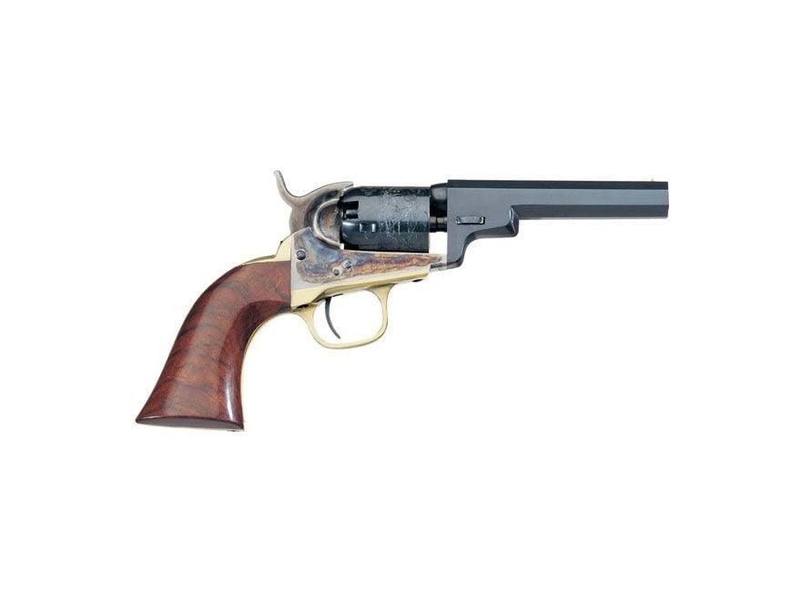 "Uberti 1849 Wells Fargo Black Powder Revolver 31 Caliber 4"" Barrel Steel Frame Blue"