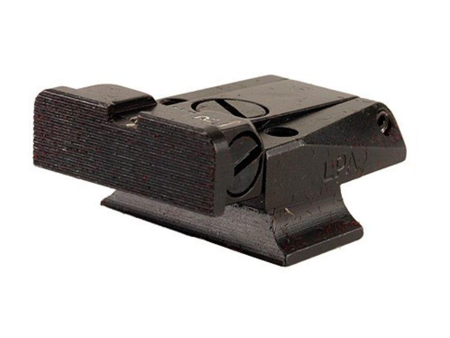 LPA TR Target Rear Sight S&W 3rd Generation Semi Auto with Novak Rear Sight 9mm Luger, ...