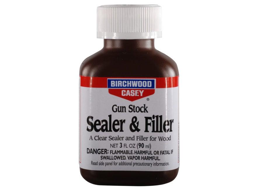Birchwood Casey S&F Gun Stock Clear Sealer & Filler 3 oz