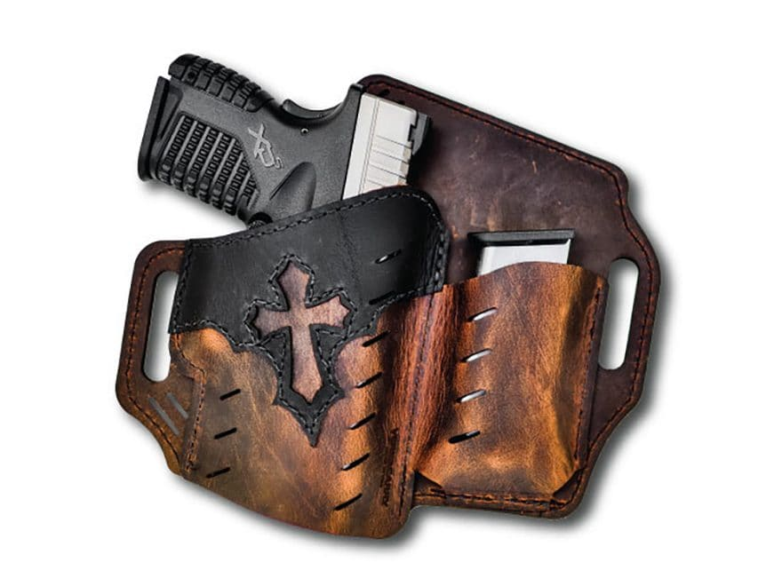 Versacarry Guardian Arch Angel Holster Right Hand Leather Brown