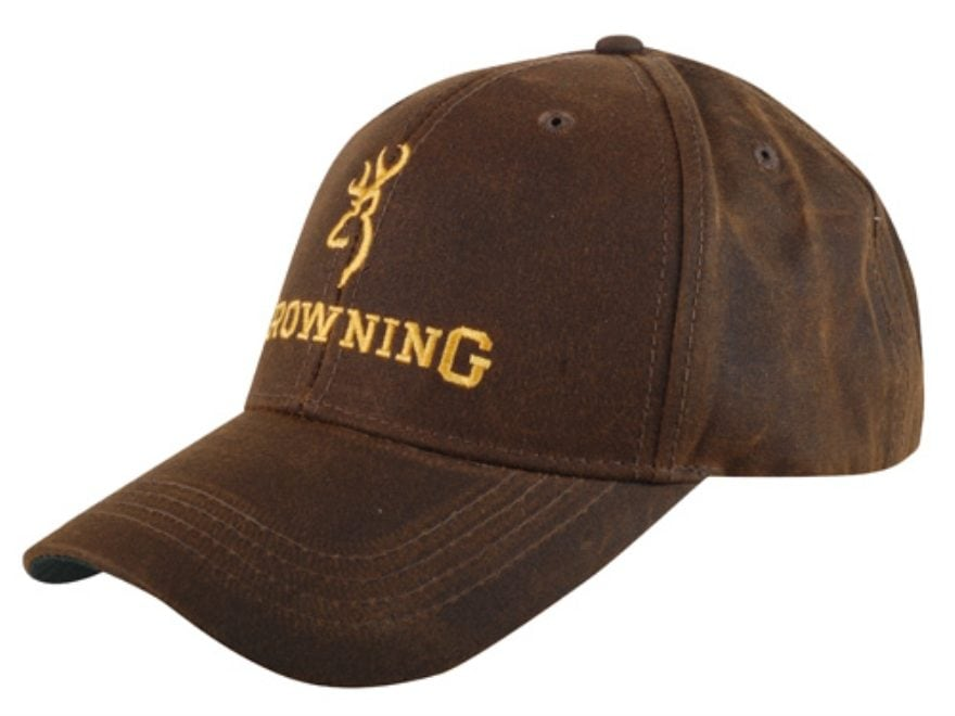Browning Cap Brown with Browning Logo