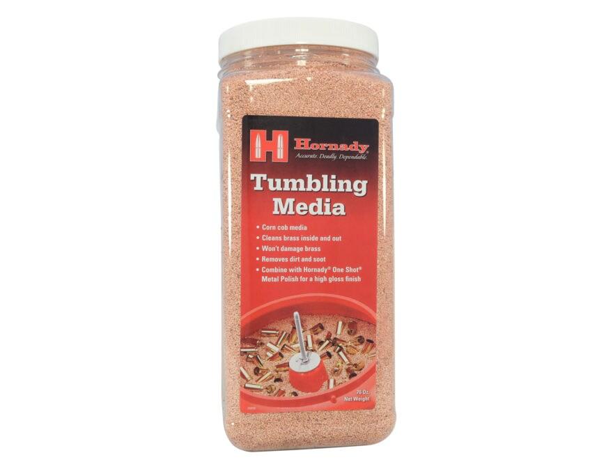 Hornady One Shot Tumbler Brass Cleaning Media Corn Cob 4-3/4 lb Jug