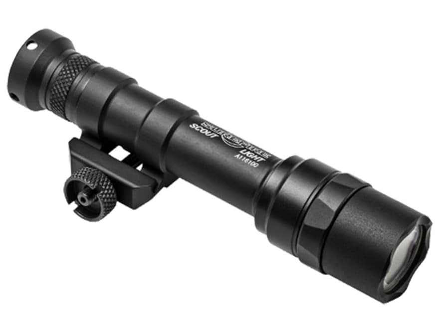 Surefire M600 Ultra Scout Light Weapon Light LED with 2 CR123A Batteries Aluminum Black