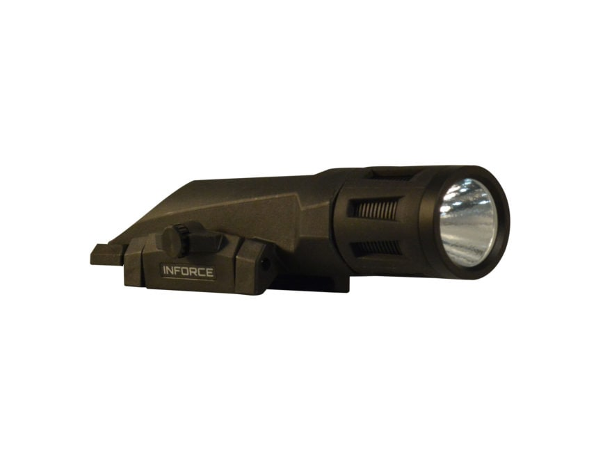 Inforce WMLx Gen2 Tactical Strobing Weaponlight LED with 2 CR123A Batteries Fits Picati...