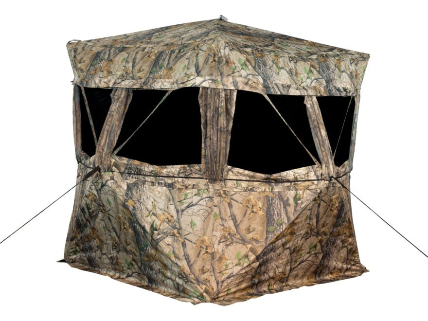 """Big Game VS360 Ground Blind 77"""" x 77"""" x 70"""" Polyester Epic Camo"""