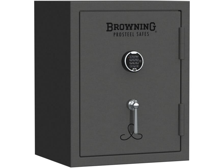 Browning Sporter 9 Fire-Resistant Compact Safe with Electronic Lock Hammer Gray
