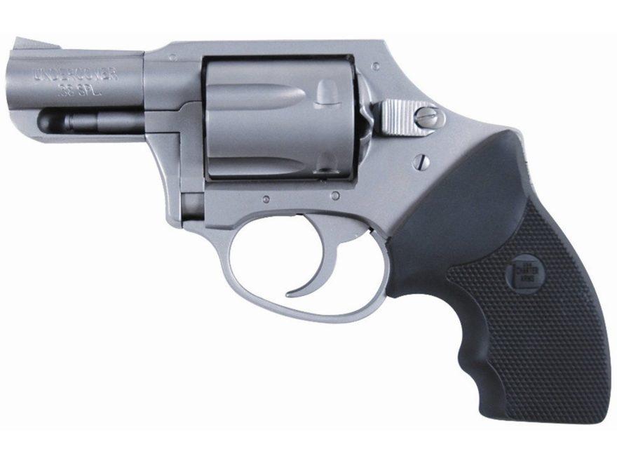 "Charter Arms Undercover Revolver 38 Special +P 2"" Barrel 5-Round Black Rubber"