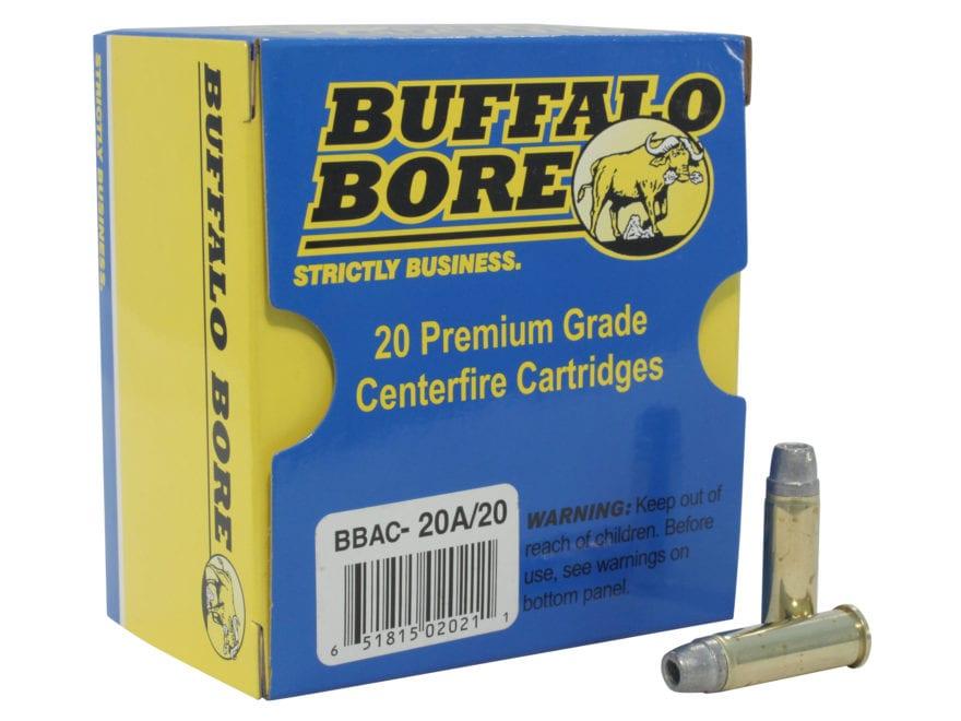 Buffalo Bore Ammunition 38 Special +P 158 Grain Lead Semi-Wadcutter Hollow Point Gas Ch...