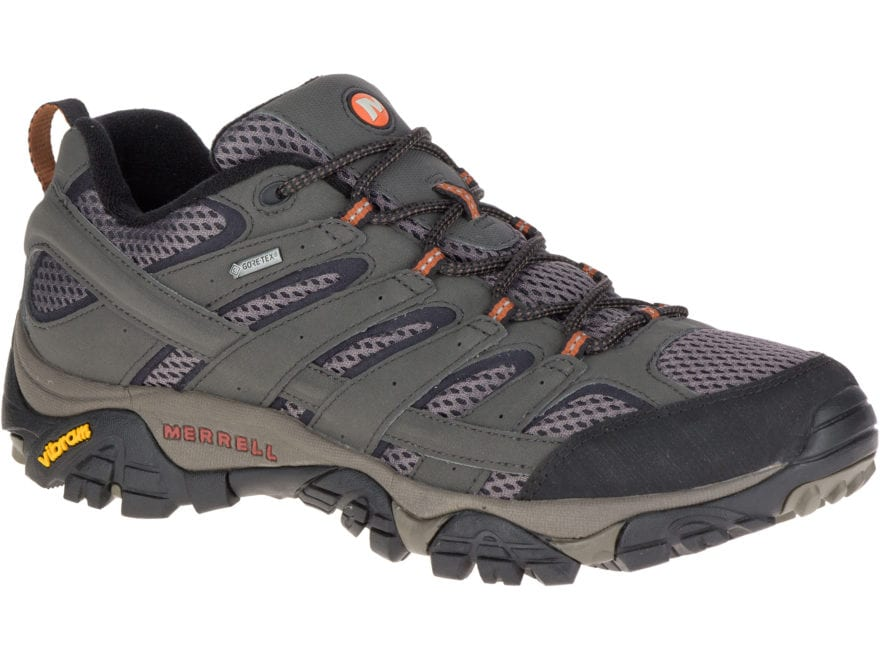 "Merrell Moab 2 Gore-Tex 4"" Waterproof Hiking Shoes Leather/Nylon Men's"