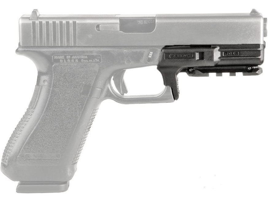 Recover Tactical RC12 Rail Glock 17, 22 Gen 1, 2 Polymer Black