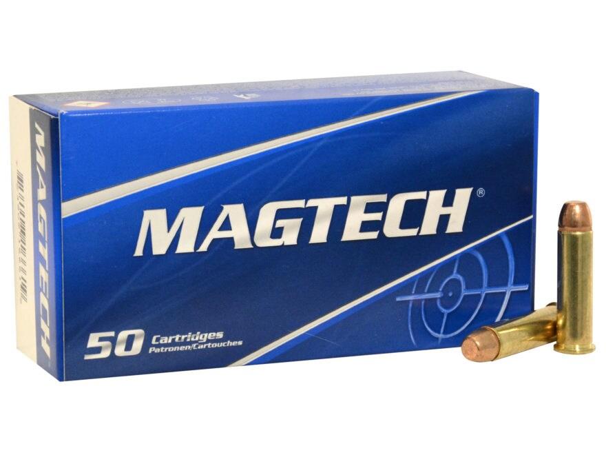 Magtech Sport Ammunition 357 Magnum 158 Grain Full Metal Jacket Box of 50