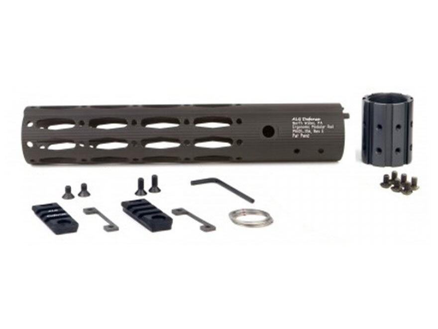 ALG Defense Ergonomic Modular Rail Free Float Handguard AR-15 Aluminum Black