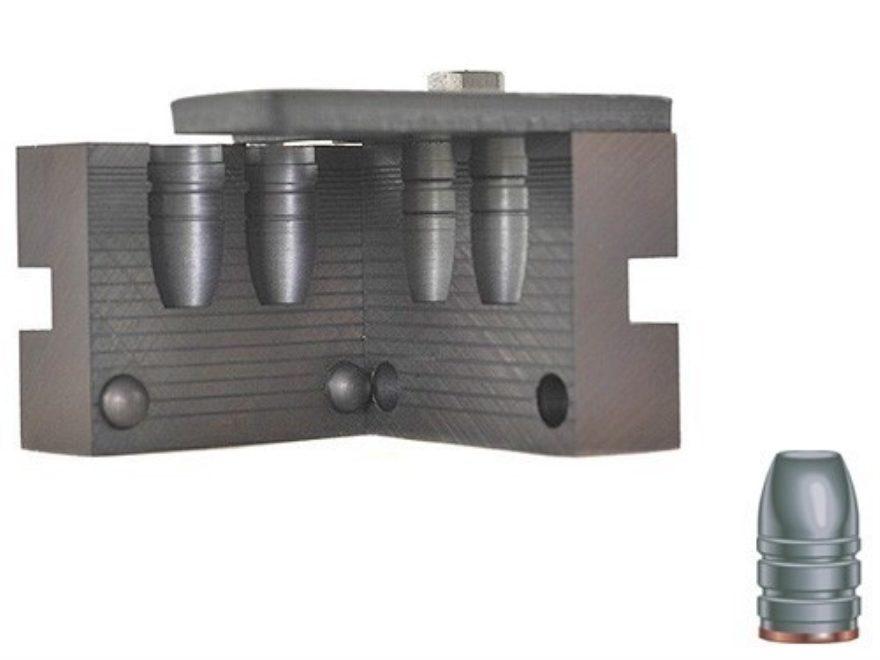 RCBS 2-Cavity Bullet Mold 45-300-FN 45 Caliber (458 Diameter) 300 Grain Flat Nose Gas C...