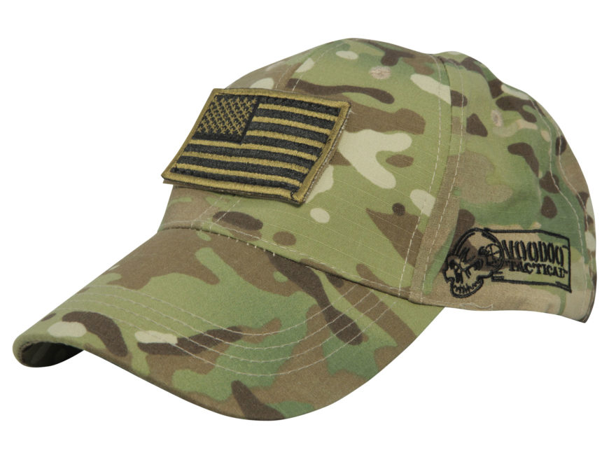 Voodoo Tactical Cap Removable Flag Patch Poplin - MPN  20-9351-OD f49ec3dd032