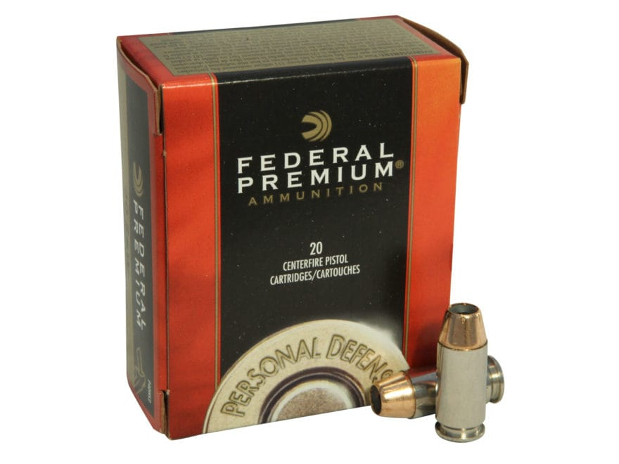 Federal Premium Personal Defense Ammunition 40 S&W 155 Grain Hydra-Shok Jacketed Hollow...