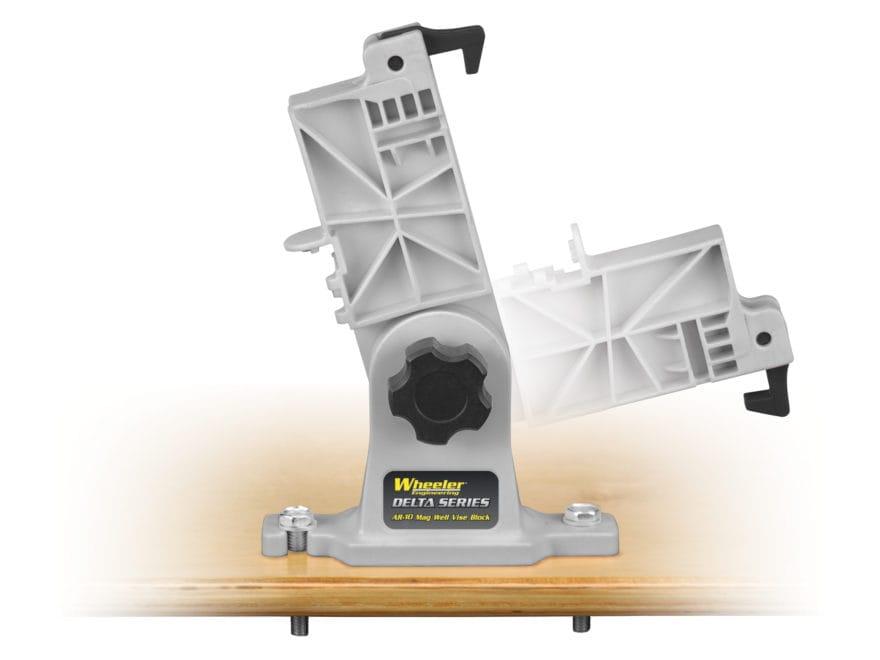 Wheeler Engineering Delta Series Lower Receiver Magazine Well Vise Block KAC SR25, LR-3...