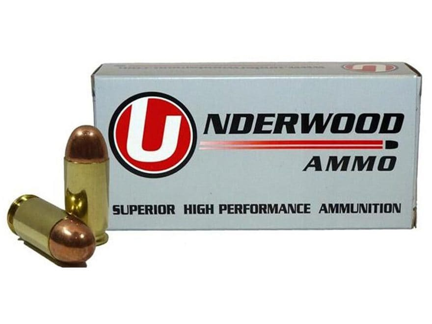 Underwood Ammunition 45 ACP +P 230 Grain Full Metal Jacket Box of 50
