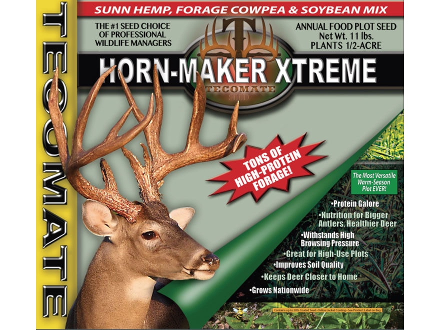 Tecomate Horn-Maker Xtreme Annual Food Plot Seed 11 lb