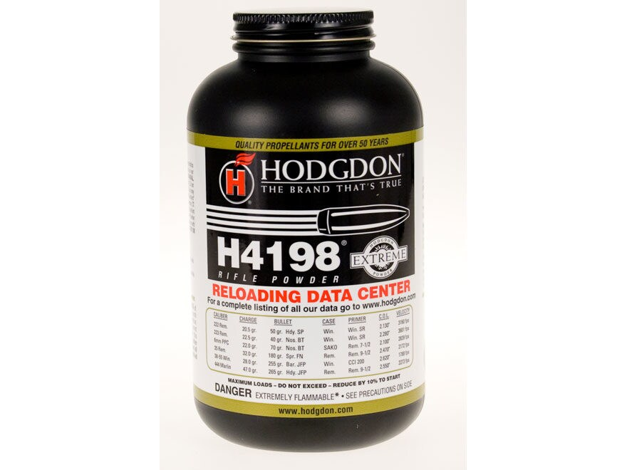 Hodgdon H4198 Smokeless Gun Powder