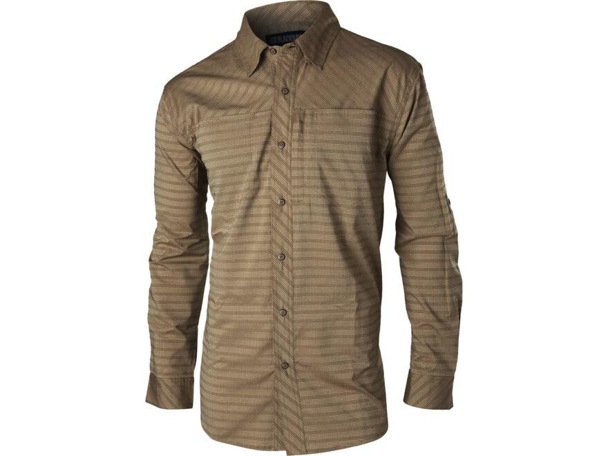 BLACKHAWK! Men's Purpose Button-Up Shirt Long Sleeve Polyester