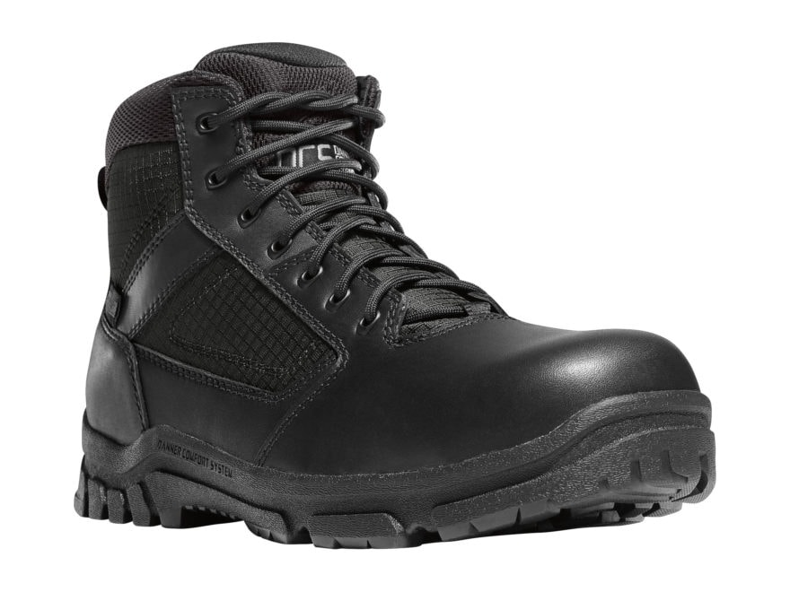 "Danner Lookout 5.5"" Side-Zip Non-Metallic Safety Toe Tactical Boots Leather/Nylon Men's"