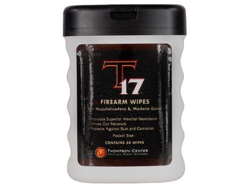 Thompson Center T-17 Firearm Wipes Pack of 50