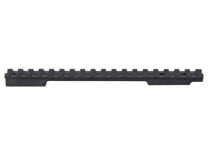 EGW 1-Piece Picatinny-Style Scope Base Savage 110 Through 116 Flat Rear Long Action Matte
