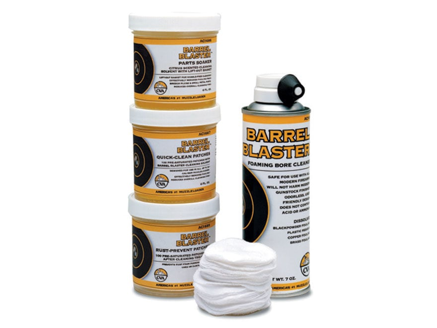 CVA Barrel Blaster Black Powder Cleaning Kit Value Pack