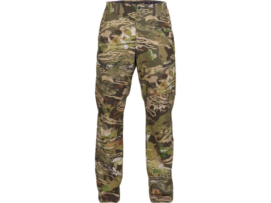 Under Armour Men's UA ArmourVent Camo Field No Fly Zone Pants Polyester