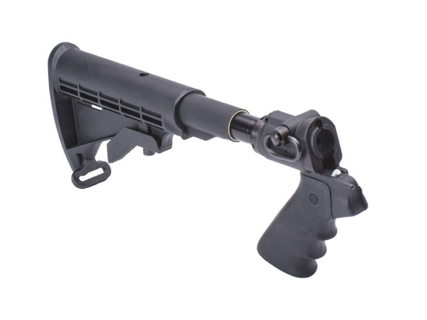 Mesa Tactical LEO Telescoping Hydraulic Recoil Stock Kit Mossberg 500, 590 12 Gauge