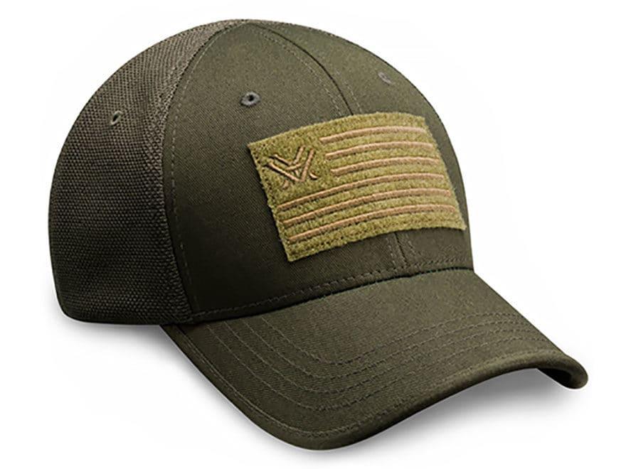 0f57530232a Vortex Optics Flex Fit Patch Cap Green Large XL - MPN  FFFVG-LXL