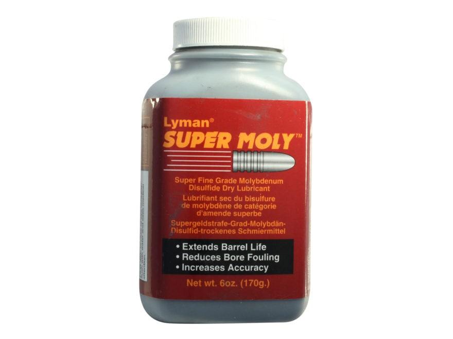 Lyman Super Moly Superfine Grade Moly Powder 6 oz