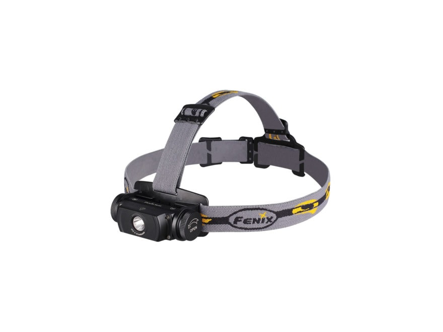 Fenix HL55 Headlamp LED requires 2CR123A or 1 18650 Battery Aluminum Black