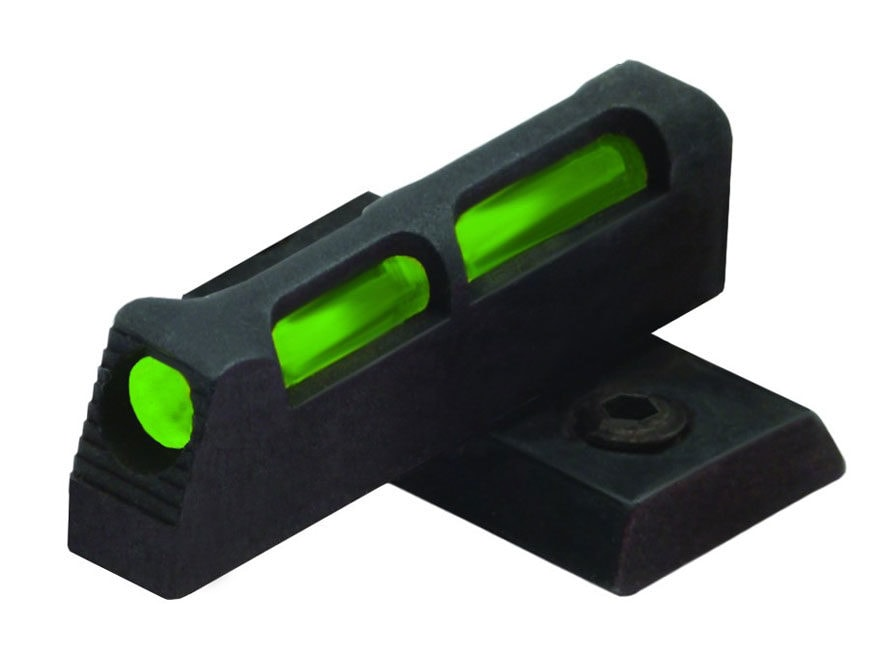 HIVIZ Front Sight Ruger SR22 Fiber Optic Steel Interchangeable Fiber Optic Green/Red