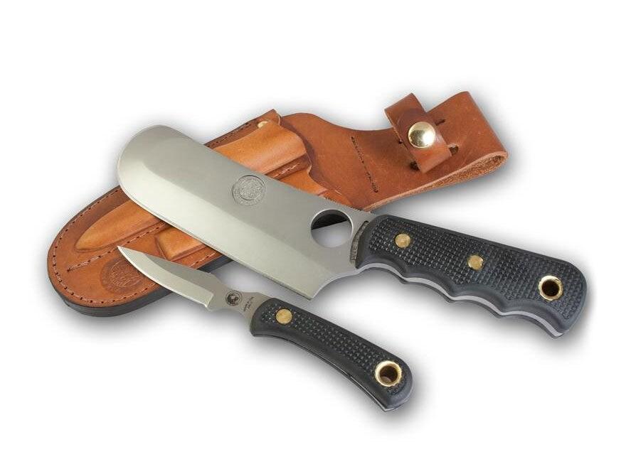 Knives of Alaska Brown Bear Combo Fixed Blade Knife D2 Tool Steel Blades