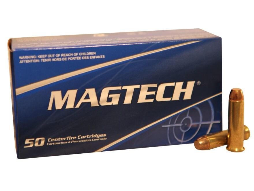 Magtech Sport Ammunition 357 Magnum 125 Grain Full Metal Jacket Box of 50