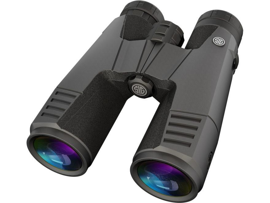 Sig Sauer ZULU9 HDX Binocular 45mm Roof Prism Graphite