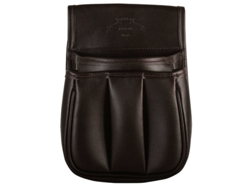 Galco Trap & Skeet Shotgun Shell Pouch Leather Brown