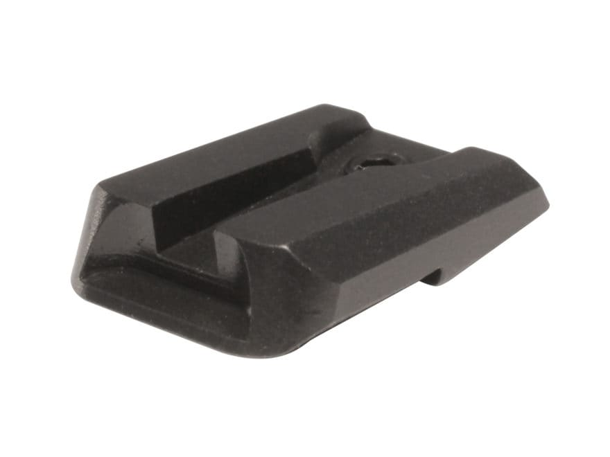 Novak Rear Sight Ruger SP101 Steel Matte