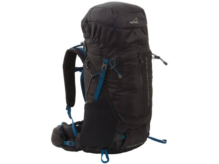 ALPS Mountaineering Wasatch 55 Backpack Black