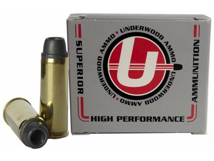 Underwood Ammunition 45 Colt (Long Colt) 225 Grain Soft Cast Lead Hollow Point Box of 20